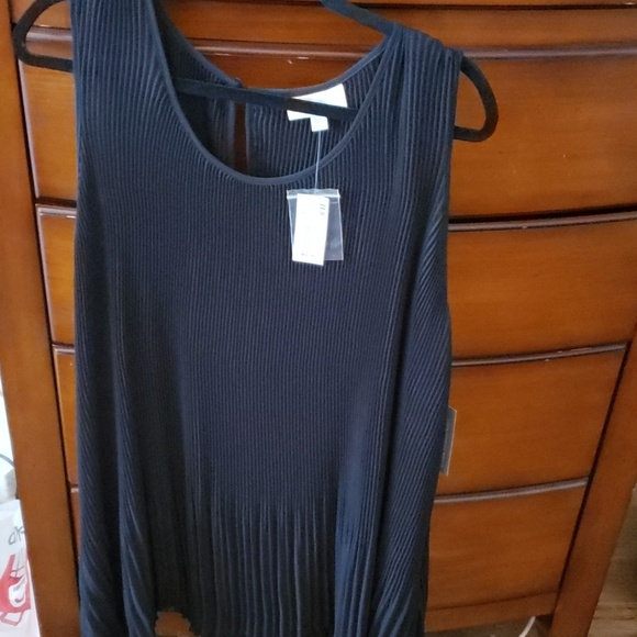 Avenue Tops - Avenue VIP Knit Dress Top